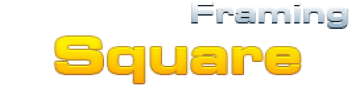Take-Apart Framing Square Logo